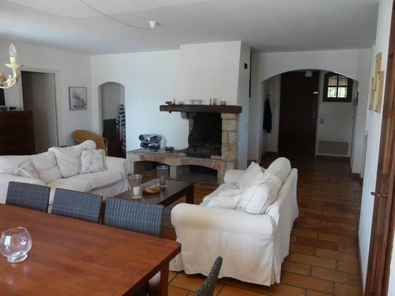 Sommerhus i Sydfrankrig stue